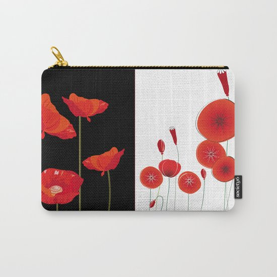 Graceful poppies Carry-All Pouch