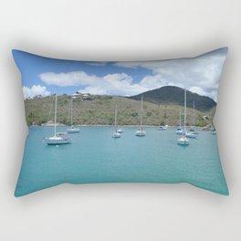 Boats  Rectangular Pillow