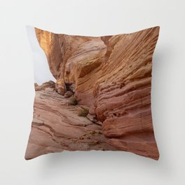 0364 Valley_of_Fire_State_Park, Nevada Throw Pillow