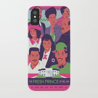 fresh prince iPhone & iPod Cases featuring The Fresh Prince of Bel-Air by Dwele Rosa