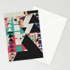 play stop pause rewind Stationery Cards