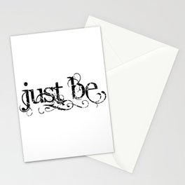Just Be Stationery Cards