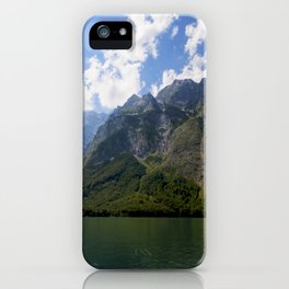 Bavaria - Alpes - Mountains Koenigssee Lake iPhone Case