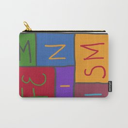 Intersectional Feminism In Colour Carry-All Pouch