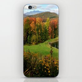 Warren Vermont Foliage iPhone Skin