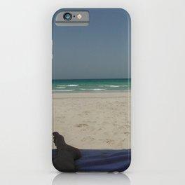 Legs on the Beach  iPhone Case