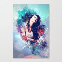 daria Canvas Prints featuring Daria by MariAngel