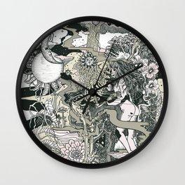 Little Bit Evil Wall Clock