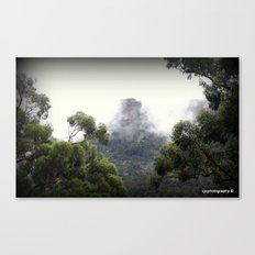 Fog covering Mt.William Canvas Print