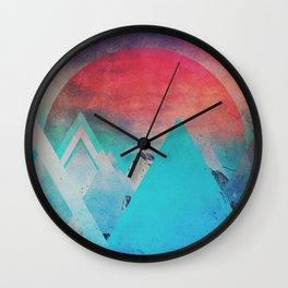 Fractions B20 Wall Clock