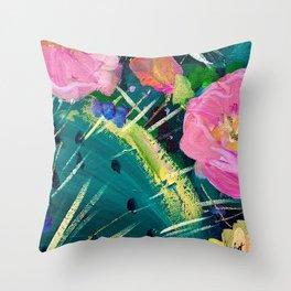 Cactus Flower #4 Throw Pillow
