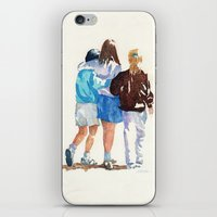best friends iPhone & iPod Skins featuring Best Friends by MadDog