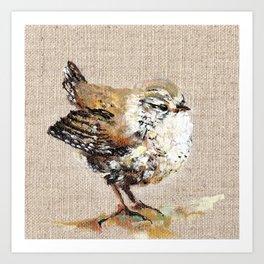 Wren Art Print