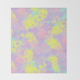 Somewhere #society6 #abstractart Throw Blanket