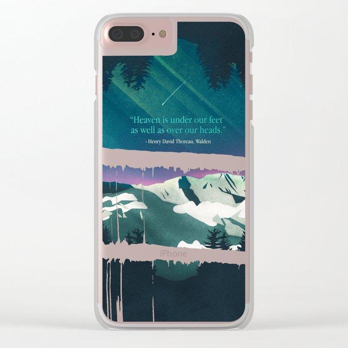Heaven Sent Clear iPhone Case