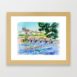 Prague Framed Art Print