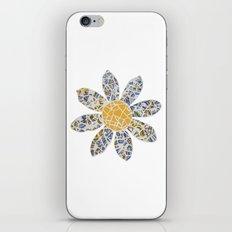 Mosaic Flower 002 iPhone & iPod Skin