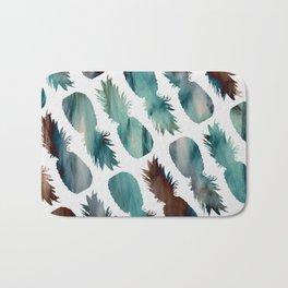 Pineapple-palooza Bath Mat