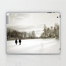 Walking Through Winter Laptop & iPad Skin