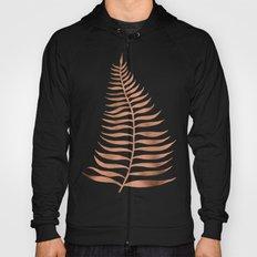 Palm Leaf – Rose Gold Hoody
