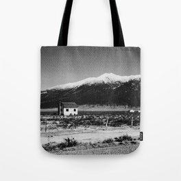 i live here Tote Bag