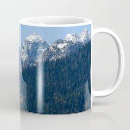Snow and Mountains Coffee Mug