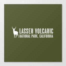 Deer: Lassen Volcanic, California Canvas Print