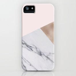 Rosy layers iPhone Case