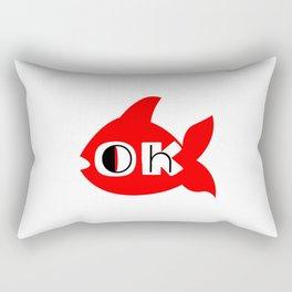 Oh OK Rectangular Pillow