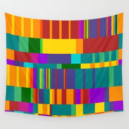 Chopin Prelude (Bright Colours) Wall Tapestry