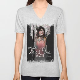 The One Unisex V-Neck