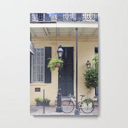 New Orleans Andrew Jackson Bicycle Metal Print