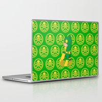 hydra Laptop & iPad Skins featuring MU Pony Bob Hydra by AbigailC