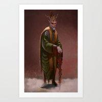 Dios  Art Print