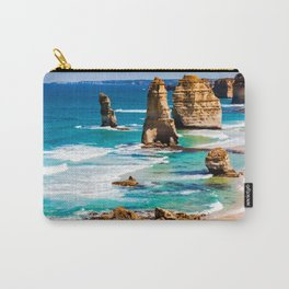 Sea tall Rocks Carry-All Pouch