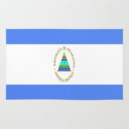 flag of nicaragua - Nicaraguans,Nicaragüense,Managua,Matagalpa,latine. Rug