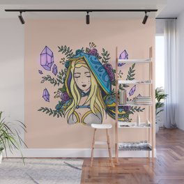 Maiden of Ice Wall Mural