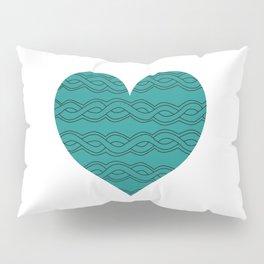 Hearts Woven 07 Pillow Sham
