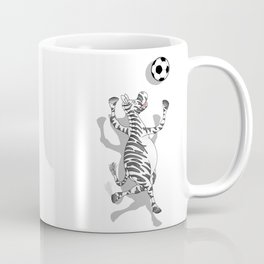 Zebra Football Coffee Mug