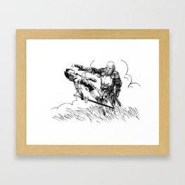 Caballero Framed Art Print