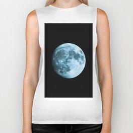 Moon - Space Photography Biker Tank