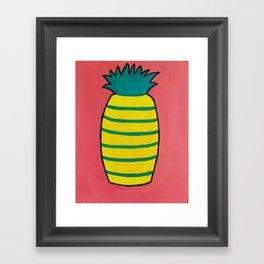 Pineapple Itself Framed Art Print