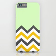 Color Blocked Chevron 13 iPhone 6s Slim Case