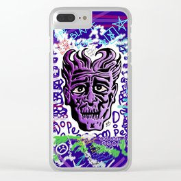 Dope Creates Monsters Remixed Clear iPhone Case