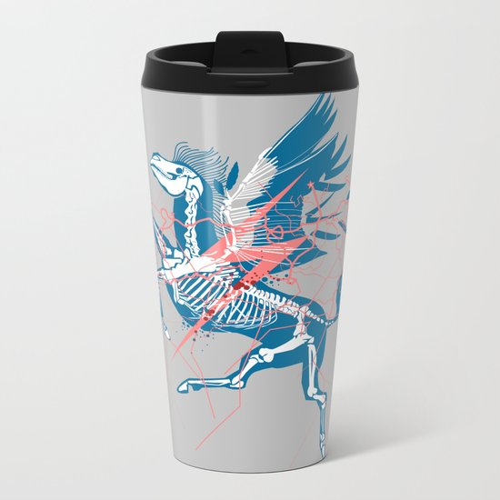 Pegasus Metal Travel Mug