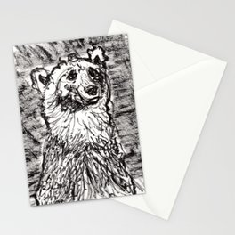 Quizzical bear Stationery Cards