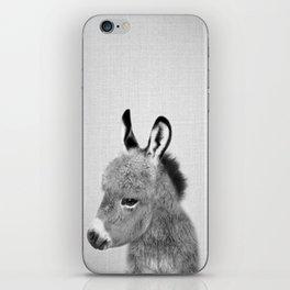 Donkey - Black & White iPhone Skin