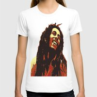 reggae T-shirts featuring the god of reggae by  Agostino Lo Coco