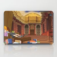 hermione iPad Cases featuring Hermione  by Lesley Vamos