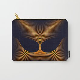 Mask of Power 3D Fractal Render Carry-All Pouch